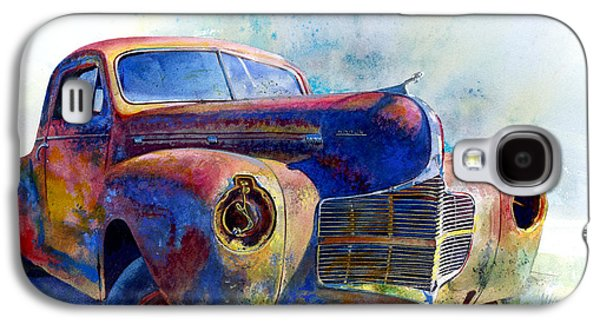 Rust Paintings Galaxy S4 Cases - 1940 Dodge Galaxy S4 Case by Andrew King