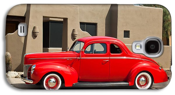 Transportation Photographs Galaxy S4 Cases - 1940 Ford Deluxe Coupe Galaxy S4 Case by Jill Reger