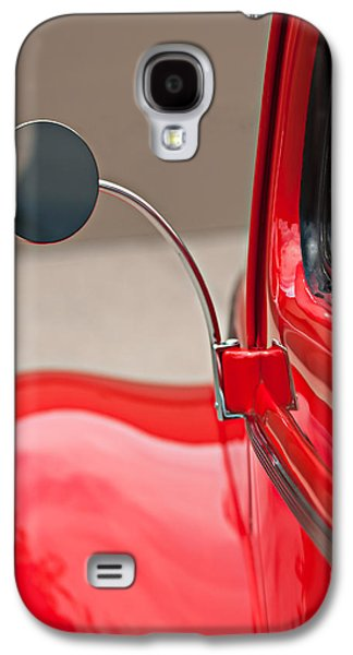 Transportation Photographs Galaxy S4 Cases - 1940 Ford Deluxe Coupe Rear View Mirror Galaxy S4 Case by Jill Reger