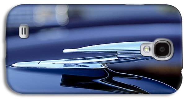 Collector Hood Ornament Galaxy S4 Cases - 1940 La Salle Hood Ornament Galaxy S4 Case by Jill Reger