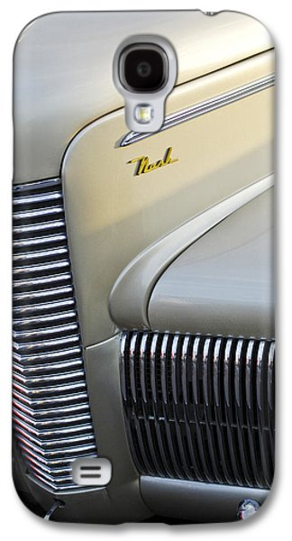 Car Abstract Photographs Galaxy S4 Cases - 1940 Nash Grille Galaxy S4 Case by Jill Reger
