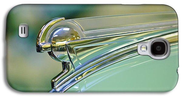 Collector Hood Ornament Galaxy S4 Cases - 1940 Oldsmobile Hood Ornament Galaxy S4 Case by Jill Reger
