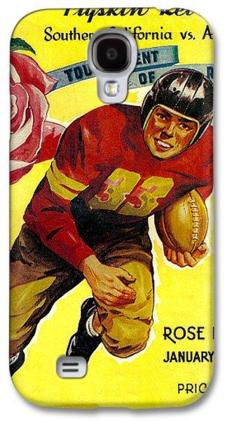 University Of Alabama Galaxy S4 Cases - 1946 Rose Bowl Program Galaxy S4 Case by David Patterson
