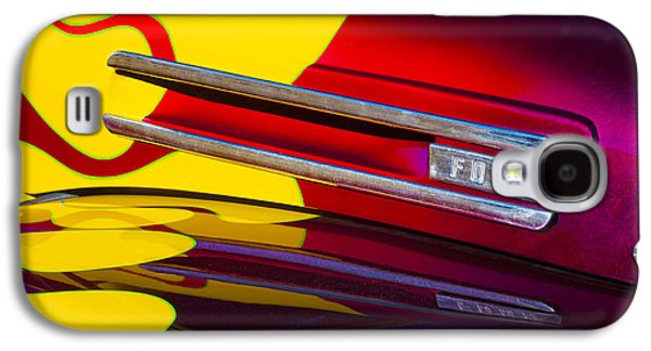 Panel Galaxy S4 Cases - 1948 Ford Panel Truck Galaxy S4 Case by Carol Leigh