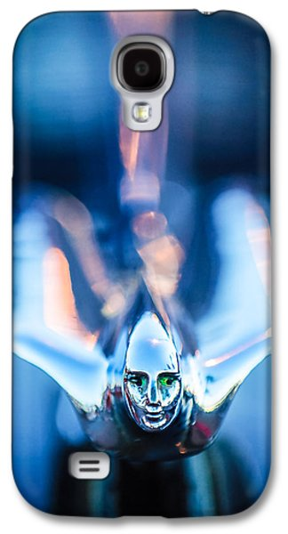 Collector Hood Ornament Galaxy S4 Cases - 1949 Cadillac Hood Ornament 1 Galaxy S4 Case by Jill Reger