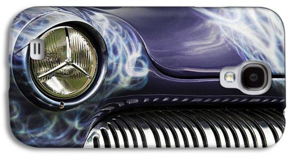 Airbrush Galaxy S4 Cases - 1949 Mercury Eight Hot Rod Galaxy S4 Case by Tim Gainey
