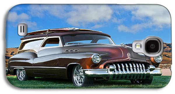 Slam Galaxy S4 Cases - 1950 Buick Woody Wagon 1 Galaxy S4 Case by Dave Koontz