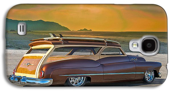 Slam Galaxy S4 Cases - 1950 Buick Woody Wagon IV Galaxy S4 Case by Dave Koontz