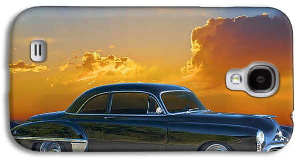 Slam Galaxy S4 Cases - 1950 Oldsmobile Coupe Galaxy S4 Case by Dave Koontz