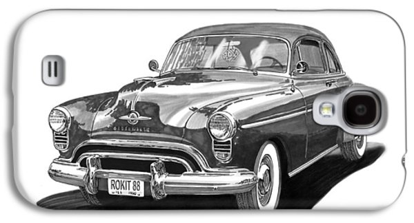 Americans Galaxy S4 Cases - 1950 Oldsmobile Rocket 88 Galaxy S4 Case by Jack Pumphrey