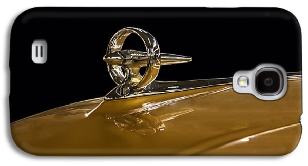 Car Mascot Digital Art Galaxy S4 Cases - 1950s Buick Bombsite Hood ornament Galaxy S4 Case by Chris Flees