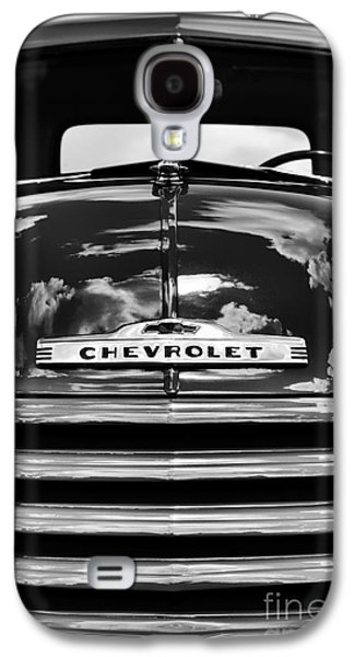 Truck Photographs Galaxy S4 Cases - 1951 Chevrolet Pickup Monochrome Galaxy S4 Case by Tim Gainey