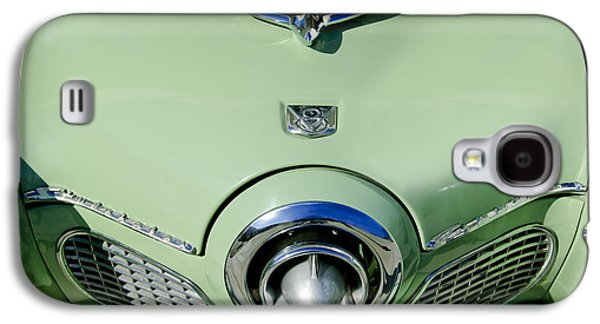 1951 Studebaker Commander Hood Ornament 2 Galaxy S4 Case by Jill Reger