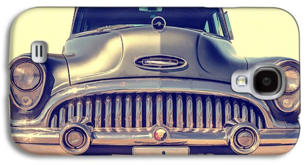 50s Photographs Galaxy S4 Cases - 1953 Buick Roadmaster Galaxy S4 Case by Edward Fielding