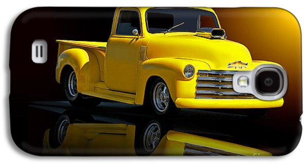 Slam Galaxy S4 Cases - 1953 Chevrolet Pickup Reflections Galaxy S4 Case by Dave Koontz