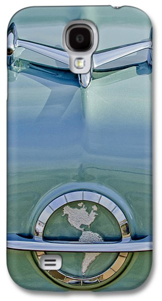 Collector Hood Ornament Galaxy S4 Cases - 1954 Oldsmobile Super 88 Hood Ornament Galaxy S4 Case by Jill Reger