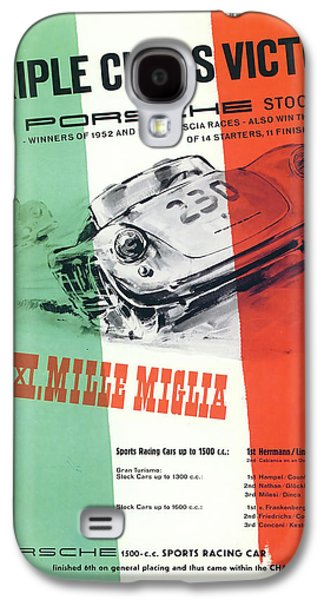 Trial Galaxy S4 Cases - 1954 XXI Mille Miglia Galaxy S4 Case by Nomad Art And  Design
