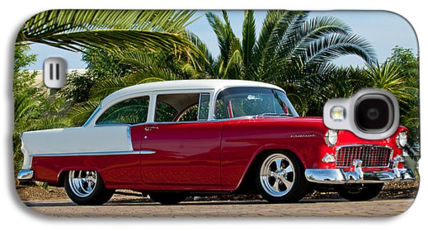 Imagery Galaxy S4 Cases - 1955 Chevrolet 210 Galaxy S4 Case by Jill Reger
