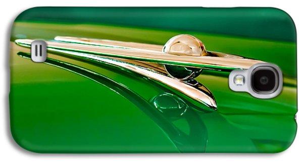 1955 Packard Clipper Hood Ornament 3 Galaxy S4 Case by Jill Reger