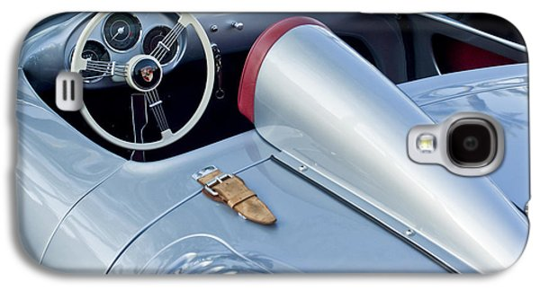 Automobiles Photographs Galaxy S4 Cases - 1955 Porsche Spyder  Galaxy S4 Case by Jill Reger