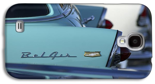 1956 Chevrolet Belair Nomad Rear End Galaxy S4 Case by Jill Reger