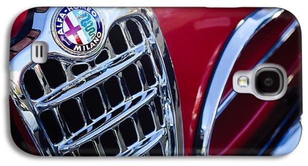 Sprint Galaxy S4 Cases - 1957 Alfa-Romeo 1900C Super Sprint Grille Emblem Galaxy S4 Case by Jill Reger
