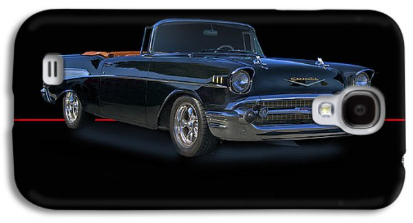 Slam Galaxy S4 Cases - 1957 Chevrolet Bel Air Convertible Galaxy S4 Case by Dave Koontz