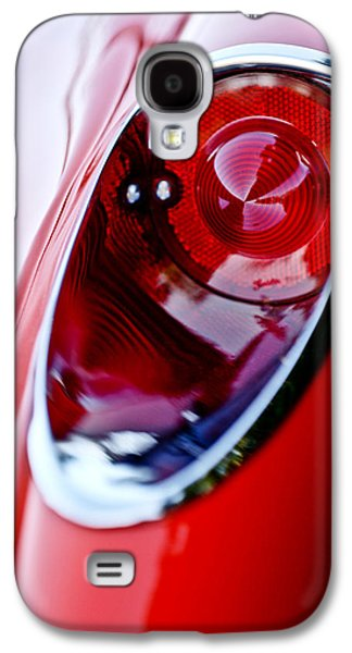 Car Abstract Photographs Galaxy S4 Cases - 1957 Chevrolet Corvette Convertible Taillight Galaxy S4 Case by Jill Reger