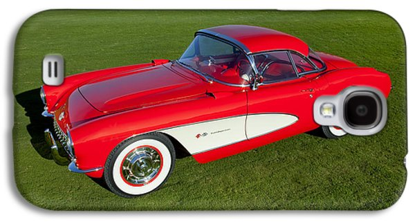 Robert Jensen Galaxy S4 Cases - 1957 Corvette Galaxy S4 Case by Robert Jensen