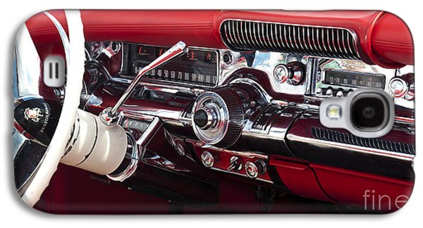 50s Photographs Galaxy S4 Cases - 1958 Buick Special Dashboard Galaxy S4 Case by Tim Gainey
