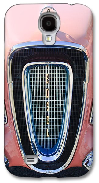 Pacers Galaxy S4 Cases - 1958 Edsel Pacer Grille Emblem Galaxy S4 Case by Jill Reger
