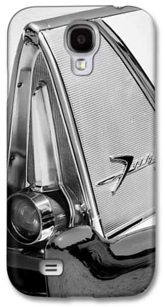 Fury Galaxy S4 Cases - 1958 Plymouth Fury Golden Commando Taillight Emblem -3467bw Galaxy S4 Case by Jill Reger