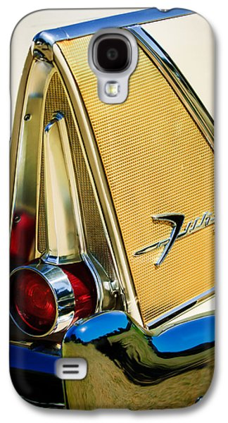 Fury Galaxy S4 Cases - 1958 Plymouth Fury Golden Commando Taillight Emblem -3467c Galaxy S4 Case by Jill Reger