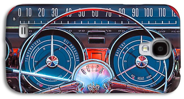 1959 Buick Lesabre Steering Wheel Galaxy S4 Case by Jill Reger