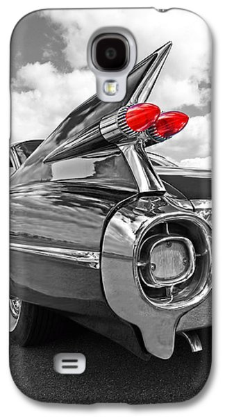 50s Photographs Galaxy S4 Cases - 1959 Cadillac Tail Fins Galaxy S4 Case by Gill Billington