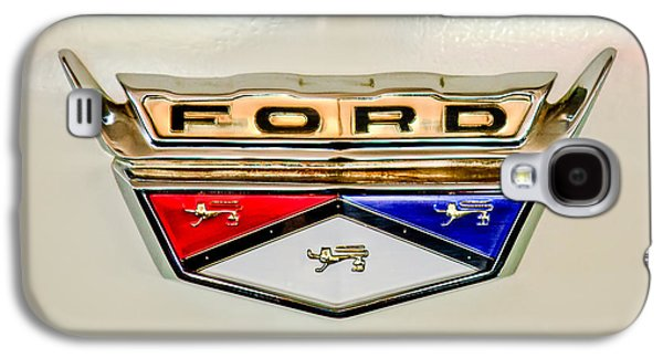 Transportation Photographs Galaxy S4 Cases - 1959 Ford Ranchero Emblem -1095c Galaxy S4 Case by Jill Reger
