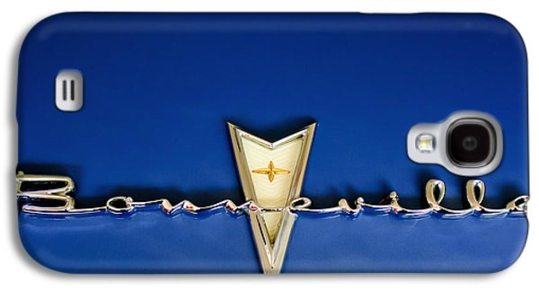 Collector Hood Ornament Galaxy S4 Cases - 1959 Pontiac Bonneville Emblem Galaxy S4 Case by Jill Reger