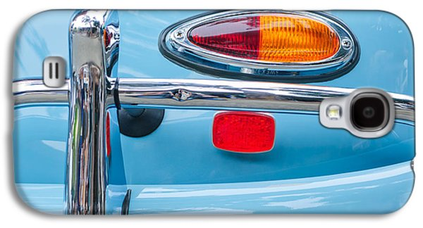 Transportation Photographs Galaxy S4 Cases - 1959 Porsche 356 A Convertible Taillight Galaxy S4 Case by Jill Reger