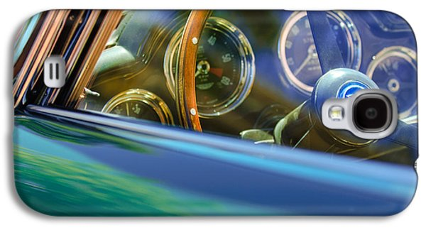 1960 Galaxy S4 Cases - 1960 Aston Martin DB4 Series II Steering Wheel Galaxy S4 Case by Jill Reger