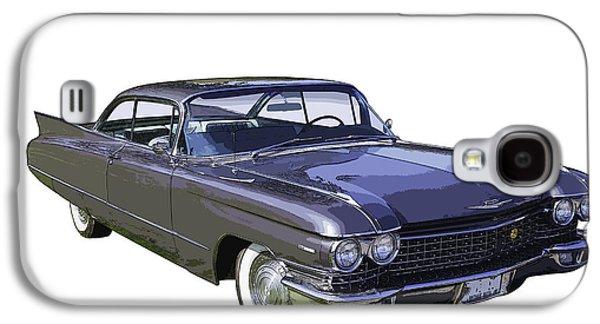 Nostalgia Digital Art Galaxy S4 Cases - 1960 Cadillac - Classic Luxury Car Galaxy S4 Case by Keith Webber Jr