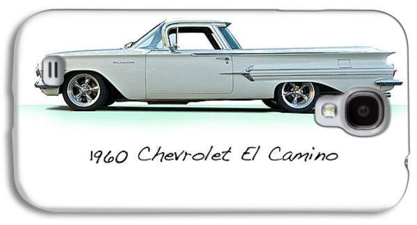 Slam Galaxy S4 Cases - 1960 Chevrolet El Camino Studio Galaxy S4 Case by Dave Koontz