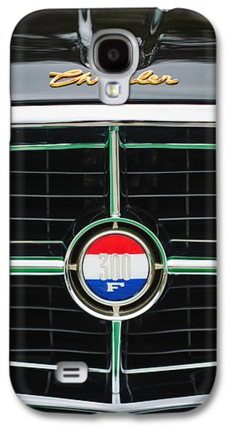 1960 Photographs Galaxy S4 Cases - 1960 Chrysler 300F Convertible Grille Emblem Galaxy S4 Case by Jill Reger
