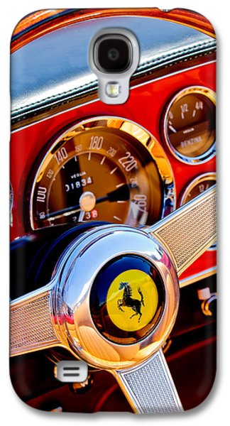 1960 Galaxy S4 Cases - 1960 Ferrari 250 GT Cabriolet Pininfarina Series II Steering Wheel Emblem -1319c Galaxy S4 Case by Jill Reger