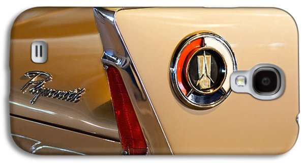 1960 Galaxy S4 Cases - 1960 Plymouth Fury Convertible Taillight and Emblem Galaxy S4 Case by Jill Reger