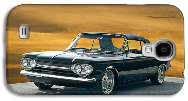 Slam Galaxy S4 Cases - 1962 Corvair Cosa Convertible Galaxy S4 Case by Dave Koontz