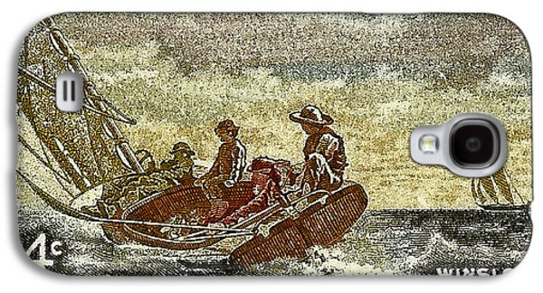 Us Postal Service Galaxy S4 Cases - 1962 Winslow Homer Postage Stamp Galaxy S4 Case by David Patterson