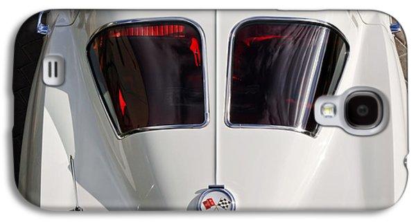 Spit Galaxy S4 Cases - 1963 Chevrolet Corvette Split Window -399c Galaxy S4 Case by Jill Reger