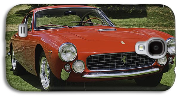 Classic Cars Photographs Galaxy S4 Cases - 1963 Ferrari 250 GT Lusso Galaxy S4 Case by Sebastian Musial