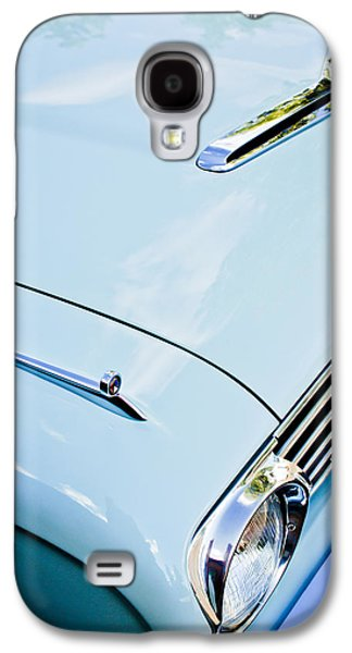 1963 Ford Galaxy S4 Cases - 1963 Ford Falcon Futura Convertible Hood Galaxy S4 Case by Jill Reger