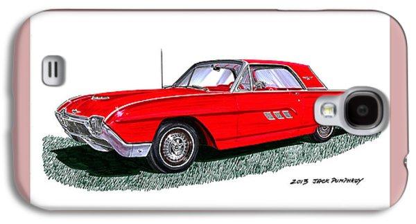 1963 Ford Thunderbird Galaxy S4 Case by Jack Pumphrey